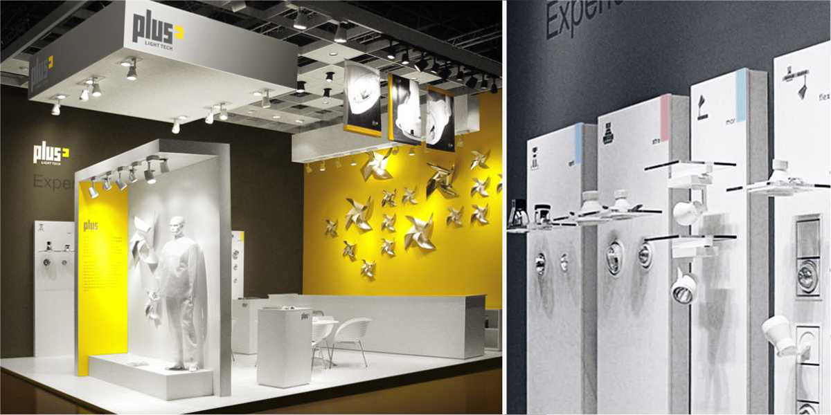 Exhibition Stand Lighting Plus : Green design